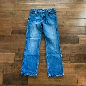 Old Navy Boys' Bootcut Jeans. 14 Regular.